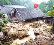 泥石流,救援,视频