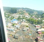新华社记者和驻智利大使描述地震情形